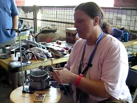 Antique Sock Knitting Machines - CRAFT Video Podcast