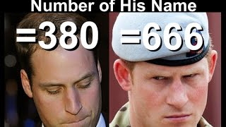 Prince William is not the Antichrist - Number of his name = 380