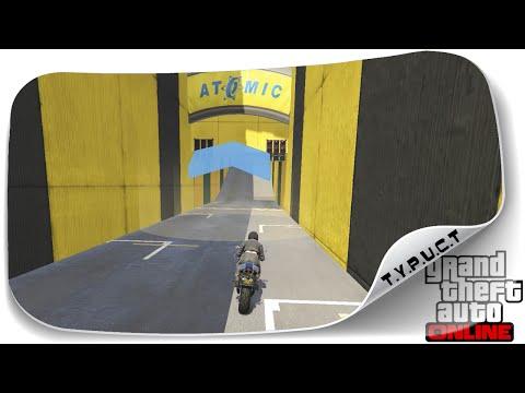 Очень узенькая гонка в GTA 5 Online