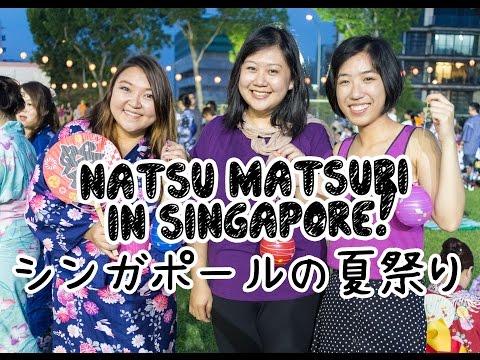 Japanese Summer Festival in Singapore!!! シンガポールでも夏祭りあります!