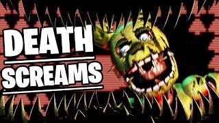 SPRINGTRAPS FINAL DEATH SCREAMS FOUND (INSANE SECRET) - Five Nights at Freddys Ultimate Custom Night
