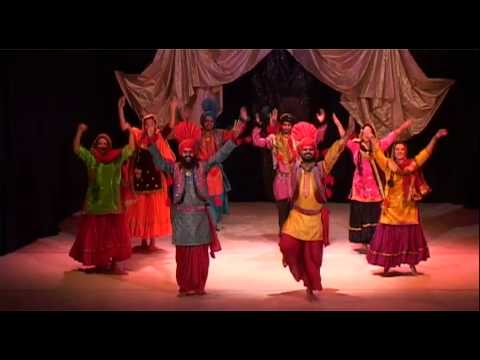 Bhangra dance from Punjub