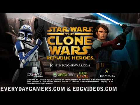 Star Wars: The Clone Wars Republic Heroes Demo - Clone Mission Play-Through