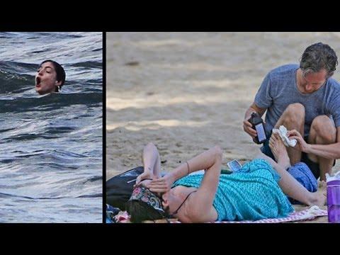Anne Hathaway ALMOST Dies In Hawaii