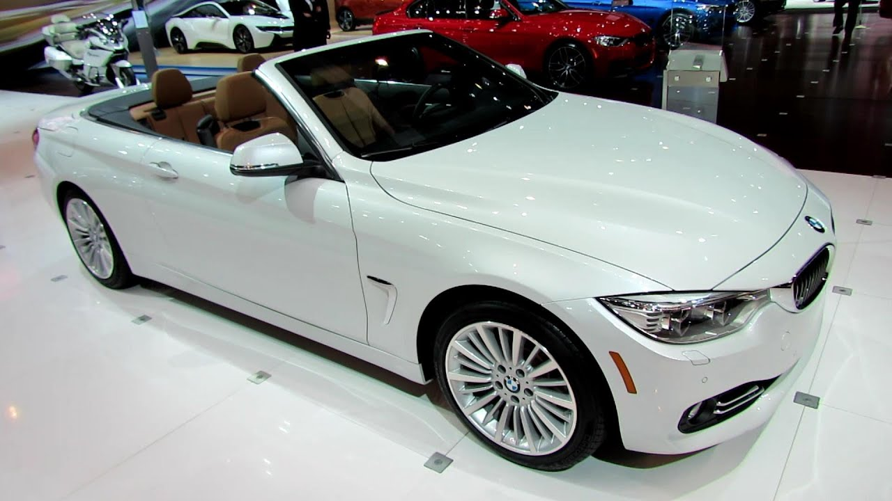 Bmw 428I Convertible >> 2014 BMW 4-Series 428i Convertible - Exterior and Interior Walkaround - Debut at 2013 LA Auto S ...