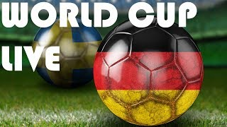 LIVE GERMANY vs SWEDEN LIVE STREAM HD - WORLD CUP 2018 LIVE HD