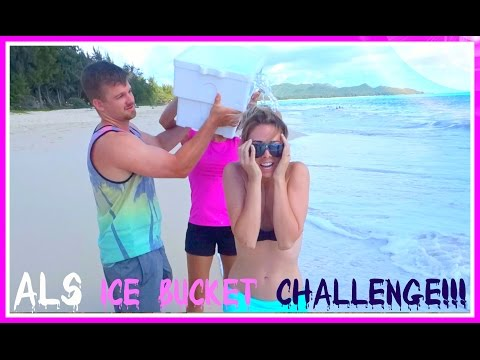 ALS ICE BUCKET CHALLENGE! + WHERE HAVE I BEEN?!