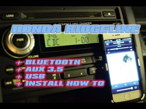 HONDA RIDGELINE BLUETOOTH & AUX 35 USB INSTALL (GROM HON-AUX) [GROM AUDIO]
