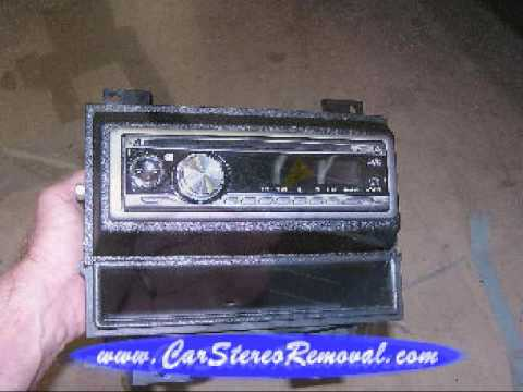 Chevrolet GMC Aftermarket Stereo Installation 1994 1997