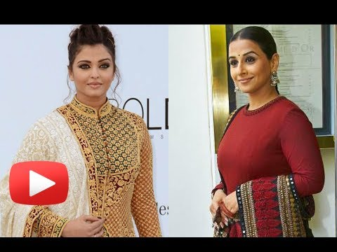 Vidya Balan Copies Aishwarya Rai Bachchan - Cannes 2013 video