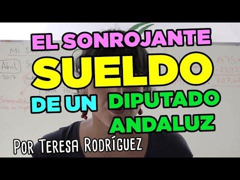 El sonrojante sueldo de un diputado andaluz, explicado por Teresa Rodríguez