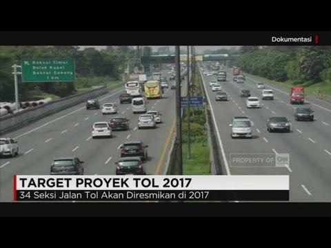 34 Seksi Jalan Tol Akan Diresmikan di 2017 #1