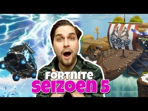 FORTNITE SEIZOEN 5 IS ZIEK! - Fortnite Battle Royale (Nederlands)
