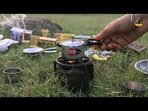 Miniature Prawn Biryani | E#72 | Easy Shrimp biryani Recipe | Miniature Cooking