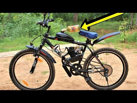 Alcohol As Fuel In 80 CC Bicycle Engine | Will It Start? Blade XYZ |