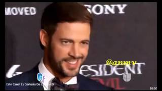 GyF Reportaje por nuestro William Levy #ResidentEvilMovie#Premiere#Mexico