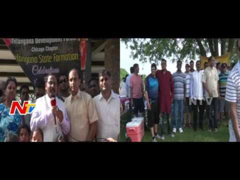 Telangana Formation Day Celebrations & Vana Bhojanalu by TDF in Chicago | US Video | NTV