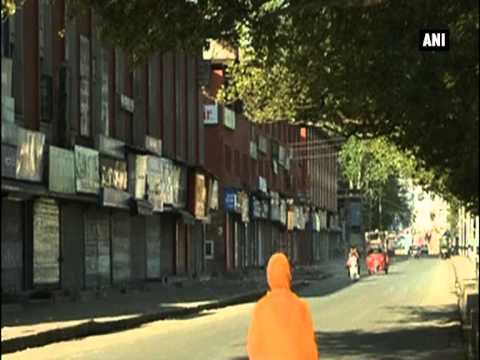 Shutdown in J and K over Masarat Alam's detention