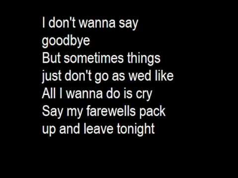 eminem farewell with lyrics on screen and in discription