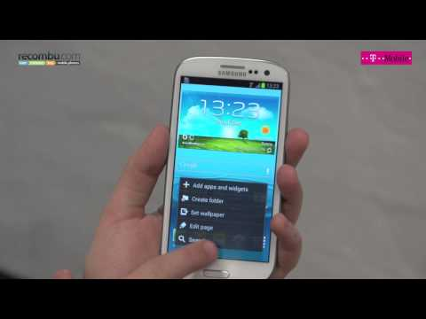 How to change the LED light on the Samsung Galaxy S3