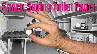 Incredible Miniature Toilet Paper Tablets For Backpackers And Preppers