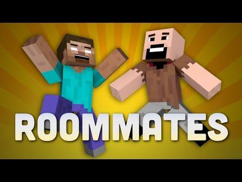 If Notch and Herobrine Were Roommates Minecraft