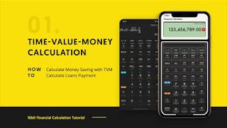 10bII Financial Calculator - Time Value Money Tutorial & Example
