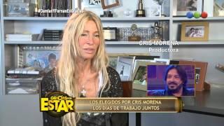 Habla Cris Morena homenaje a Fernán y Damián - Gracias Por Venir