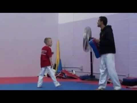 Taekwondo Kid - Frederik Emil Olsen. (denmark) video