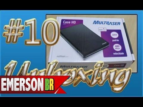 #013 [Unboxing] Case para HD Multilaser SATA 2.5