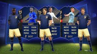 96 TOTY DE BRUYNE, 96 TOTY MODRIC, 95 TOTY KANTE! - FIFA 18 Ultimate Team