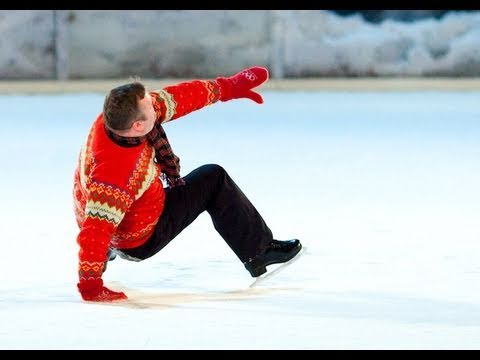 Worst Ice Skater Ever?