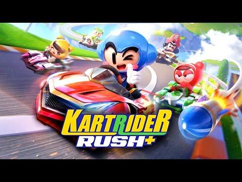 KartRider Rush+ - neues Mobile Game - Spiele mit - Deutsch/German Live!