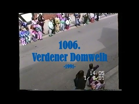 1006 Verdener Domweih Festumzug 1 6 1991