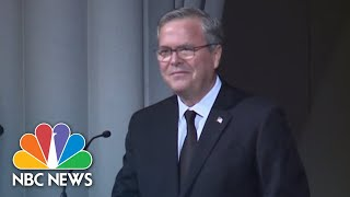 Jeb Bush On Mother Barbara Bush: She Was 'Our Role Model' | NBC News