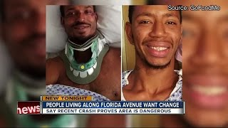 Tavern employees hurt crossing Florida Avenue