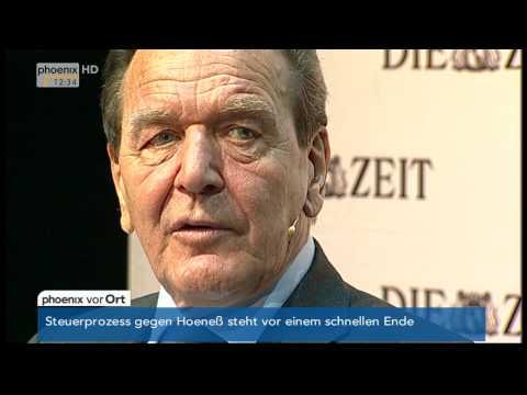 ZEIT-Matinee mit Gerhard Schröder vom 09.03.2014