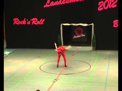 Julia Butterweck & Philipp Wolf - Landesmeisterschaft NRW 2012