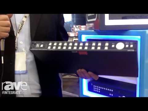 Integrate 2016: Kramer Shows Off Its VP-778 Presentation Switcher and Scaler