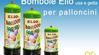 Bombole Elio usa e getta per palloncini vendita On
