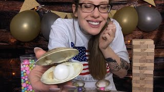 ASMR FACEBOOK LIVE PEARL PARTY RP