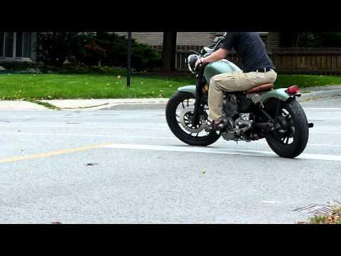 Yamaha Virago 750 bobber
