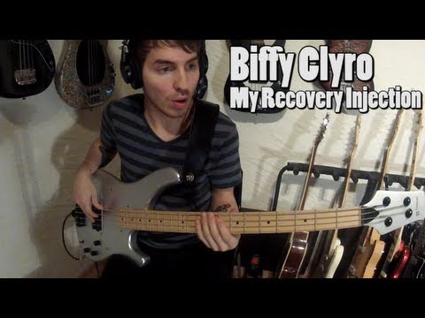 Biffy Clyro - My Recovery Injection [Bass Cover]