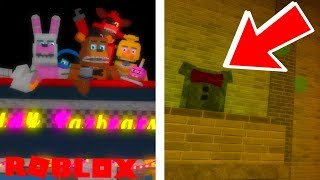 Finding ALL Easter Eggs in Roblox The Beginning of Fazbear Ent EGG HUNT