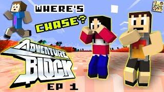 Adventure Block - Episode 1 - WHERE'S CHASE? (Season 1 | FGTEEV MINECRAFT MINI-SERIES SHOW)