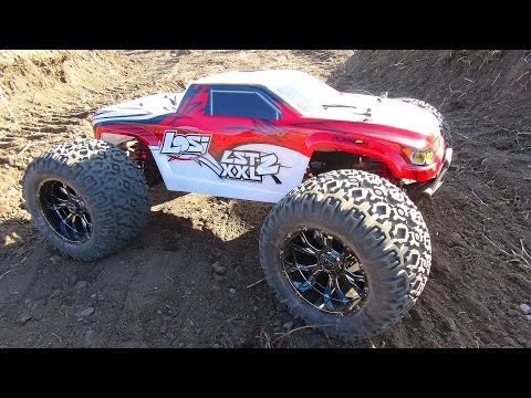 RC ADVENTURES - Maiden Run - Losi LST XXL2 1/8th Scale Gas Powered Monster Truck
