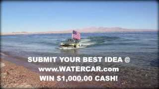 The Most Fun Vehicle on the Planet! - WaterCar Panther - FACEBOOK CHALLENGE