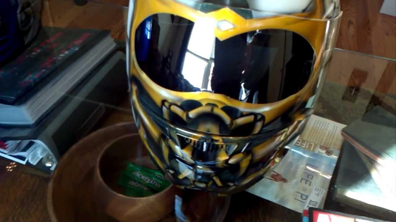 Custom Scorpion Mortal Kombat White Version Airbrushed