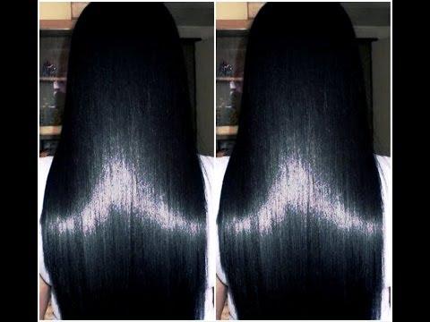 Como fazer o cabelo crescer rápido, acabar com a queda e mante-lo liso naturalmente com 2 produtos