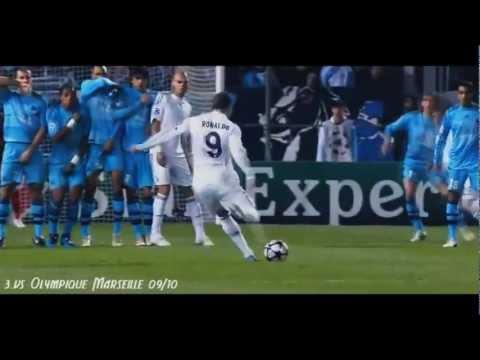 Cristiano Ronaldo top 10 coup franc HD
